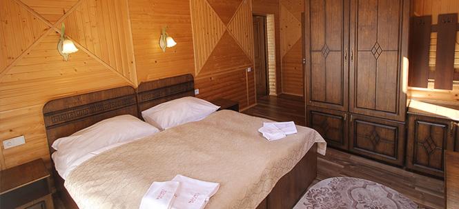 с уютными комнатами